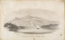 'Panwell River, Dekkan, India'.  Uncoloured aquatint by J. Baily after an 1808 drawing  by William Westall.  Published by Joyce Gold, Naval Chronicle in 1816.